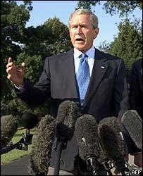 Bush enfrenta su peor pesadilla: Katrinagate